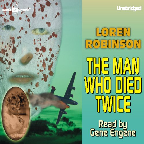 The Man Who Died Twice audiobook cover art