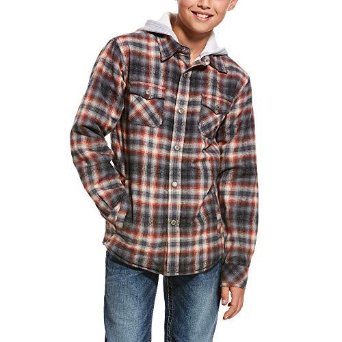 ARIAT Kid's Kemper Flannel Snap Jacket Multi Size XL
