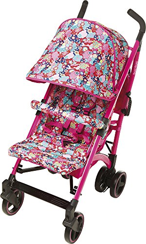 TUC TUC Girls Tuctuc Yupi Buggy Kimono Tuc Tuc The yuppie shine tuck tuck pushchair is designed for maximum comfort for both child and parents. comfortable for the baby because of the big seat and its tilt of up to 150º. Certified: from birth to 15 kg. metal-colored aluminum structure. umbrella-type folding. easily removable dual layer polyester lining. ova protective hood. recline to 150º in four positions using one hand. suspension system in 4 groups of wheels, Easy-access single brake. includes carrying handle. multi-position harness retainer with five anchor points. accessories included: rain cover, basket to carry objects, dual fabric extendible hood with visor. 5