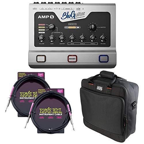 BluGuitar Amp1 Mercury Edition 100W, Gator MixerBag1515, (2) ErnieBall Guitar Cables Bundle