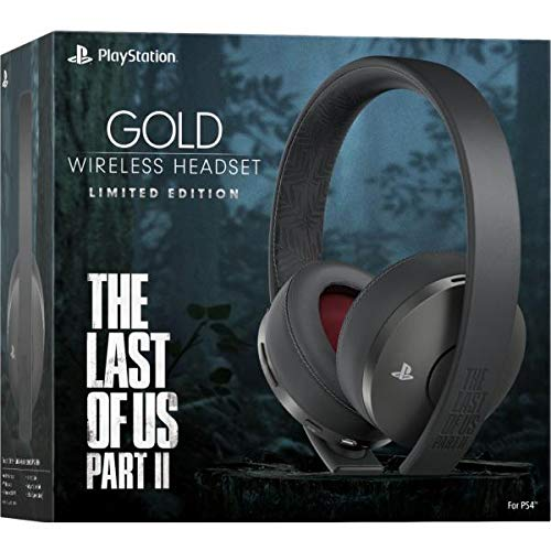 Playstation Gold Wireless Headset - The Last of Us Part II Limited Edition - Playstation 4 Accessory