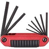 EKLIND 25911 Ergo-Fold Fold-up Hex Key allen wrench - 9pc set SAE Inch Sizes 5/64-1/4
