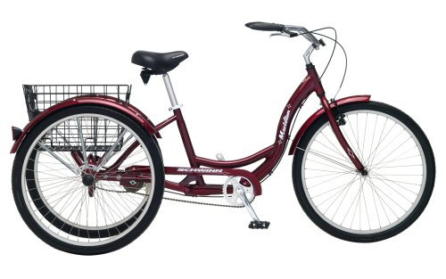 "Schwinn Meridian 24"" Cruiser Tricycle - Blue"