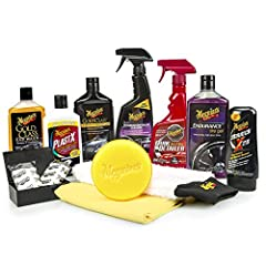 COMPLETE CAR KIT: Includes 12 premium products to clean, shine and protect your paint, interior, wheels, bumpers and everything in between. Takes guesswork out of the equation. GOLD CLASS CAR WASH: designed to blast away dirt and grime while boosting...
