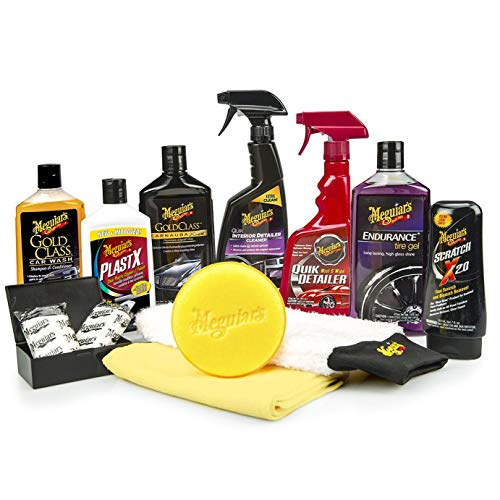Meguiar's Complete Car Care Kit  $37 at Amazon