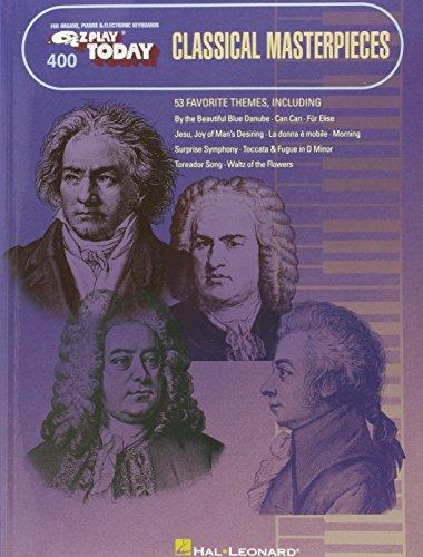 Classical Masterpieces E-Z Play Today 400: Noten für Keyboard