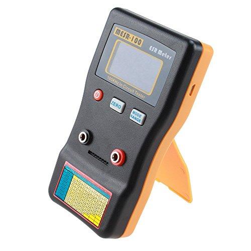 Kondensator Tester - SODIAL(R)MESR 100 V2 mit automatischer Bereichswahl In-Circuit-ESR Kondensator Meter Tester (bis zu 0,001 bis 100R)