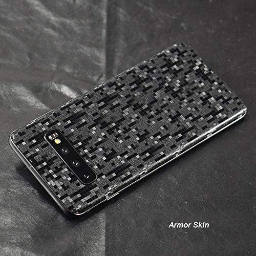JLFDHR 3D Piel de Fibra de Carbono Piel de Envoltura de película Etiqueta de película de Pasta de teléfono para Samsung S10 Plus S10e S9 S8Nota 10Nota 8 9 A9 2018-Nota Piel de Armadura