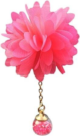 Colorful Auto Lufterfrischer Duftspender Air Outlet Duftenden Parfüm Blume Lufterfrischer Diffusor Kamelie Car Loving Gift Rosa Auto