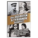 Goods & Gadgets Tyrannen & Despoten Quartett - Das Diktatoren Kartenspiel die 32 übelsten Führer...