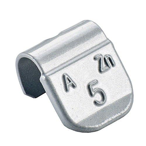PERFECT EQUIPMENT 100x Schlaggewichte Alufelgen Typ63 5g Silber | Schlaggewichte Alu Auswuchtgewichte Alufelgen | Wuchtgewichte Alufelgen