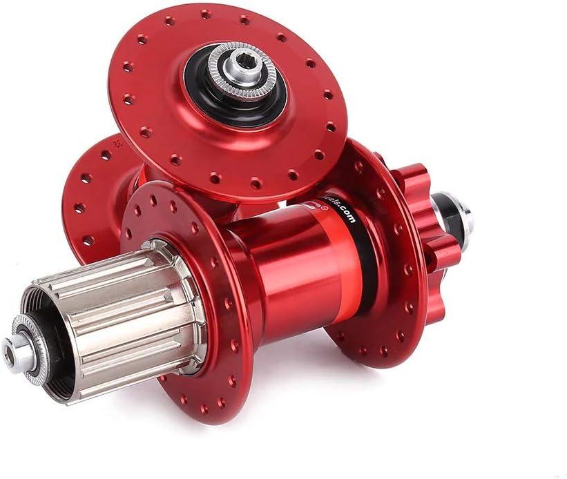 HULKWHEELS Novatec D041SB D042SB Mountain Bike Hub MTB Disc Brake Hub Bearings Front and Rear Hub Set Quick Release 28//32//36 Holes Black//Red//Gold