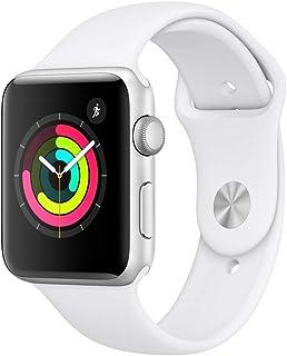 Apple Watch Series 3 42mm (GPS) - Caja De Aluminio En Plata / Blanca Correa Deportiva (Reacondicionado)