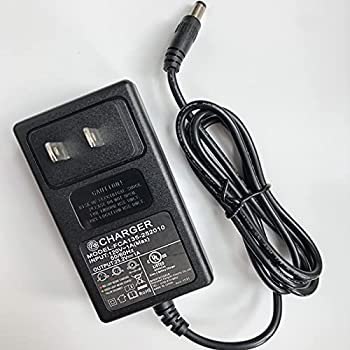 24V AC Adapter for Massage Gun Charger Output  DC 24V or 25.2V--0.6A Massage Gun Power Cord Muscle Blaster Only fit with Brushless Motor Massage Guns
