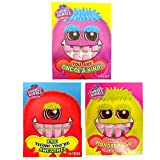 Dubble Bubble Chewing Gum Candy Valentine's Day Card Gift, 10 Pieces, Pack of 3