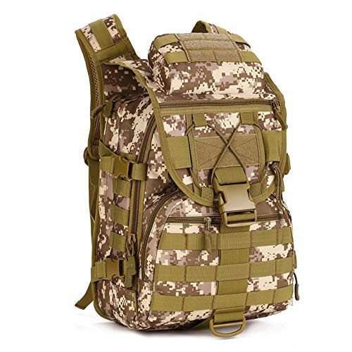 WUZHENG 40L Mochila táctica Trekking Resistente al Agua Militar ejército de Combate
