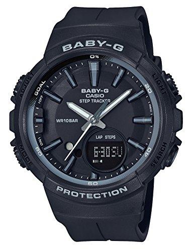 [カシオ] 腕時計 ベビージー FOR SPORTS 歩数計測 機能つき BGS-100SC-1AJF レディース ブラック