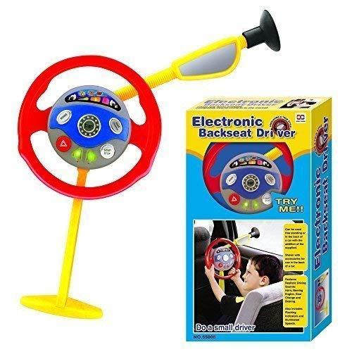 Elektronisch Rücksitz Treiber Kinder Spielen Lenkrad Echt Geräusche Creative Toys