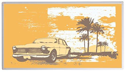 Könighaus Bildheizung (Infrarotheizung mit hochauflösendem Motiv) 5 Jahre Garantie (300-Old car Cuba)