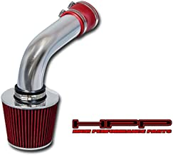 High Performance Parts Cold Air Intake Kit & Red Filter Combo Compatible for Volkswagen 1992-1994 Corrado SLC / 1993-1998 Jetta GLX (MK3 / A3) 2.8L VR6 V6