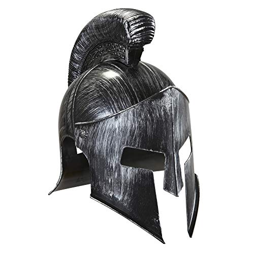 Spartan Casco Headware Accesorio para históricos Antiguos griegos y Romanos Fancy Dress Up Disfraces y Trajes