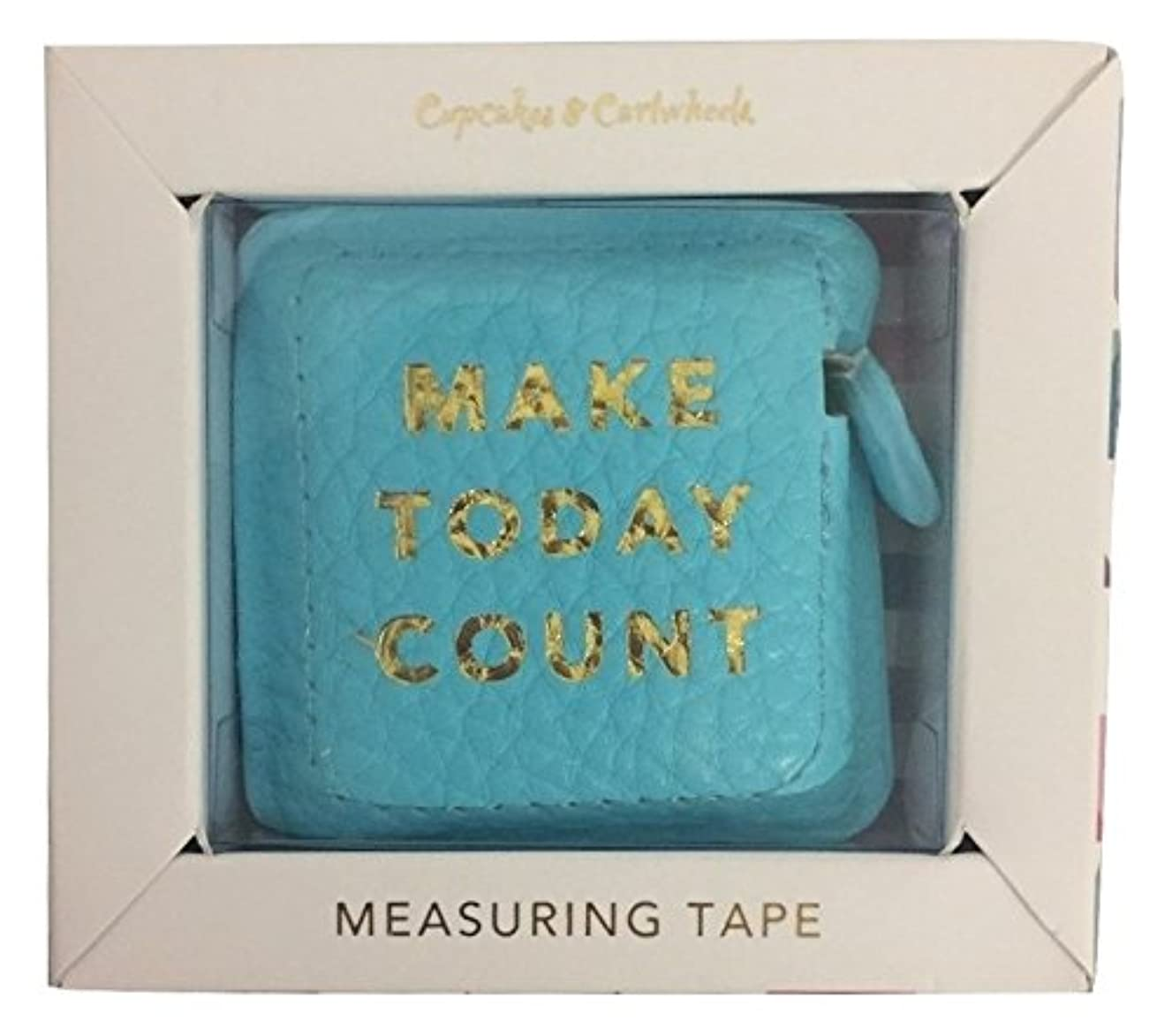 Make Today Count Boss Girl Gold Hot Stamped Measuring Tape in Gift Box