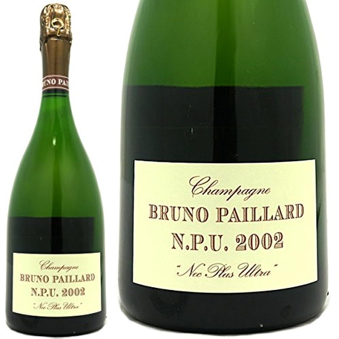 定義する斧流産ブルーノ パイヤール NPU 2002 ネック プリュ ウルトラ 正規品 シャンパン 辛口 白 750ml