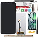 YHX-OU - Juego de pantalla LCD para Motorola Moto G8 Plus XT2019 XT2019-2 (6,3 pulgadas), color negro