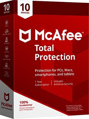 McAfee 2018protección total
