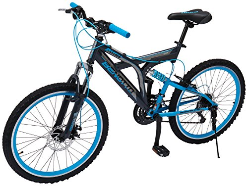 Benotto MDHRUS2421UNGR Bicicleta de Acero Rodada R24, Hombre, 21 Velocidades