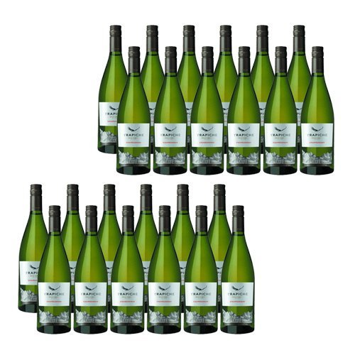 Trapiche Roble Chardonnay Oak Cask - Vino Blanco- 24 Botellas
