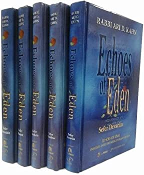 Echoes of Eden  5 Volume Set  Me orei Ha aish - Fires and Flame  Insights Into the Weekly Torah Portion