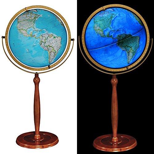 world globes illuminated - 9