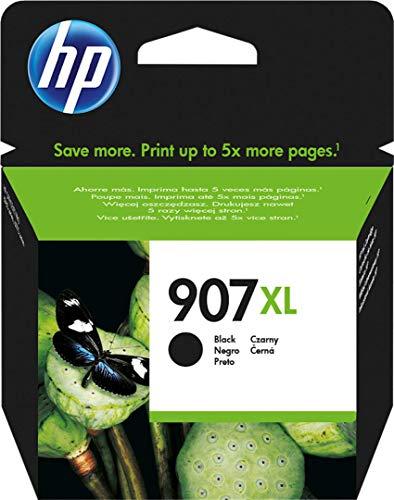 HP 907XL T6M19AE Cartuccia Originale per Stampanti a Getto di Inchiostro, Compatibile con OfficeJet Pro 6960 e 6970, Nero