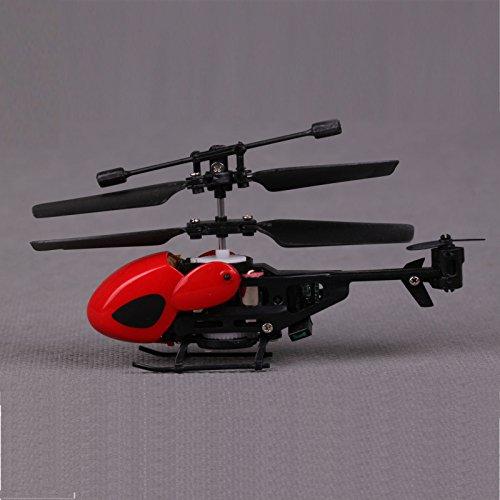 ZFE 1 pezzo nero e QS5013 2, 5CH Micro elicottero RC telecomando
