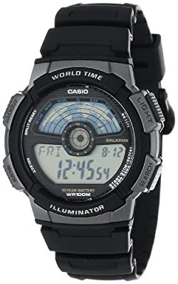 Casio Men's AE1100W-1A Sport Multi-Function Grey Dial Watch