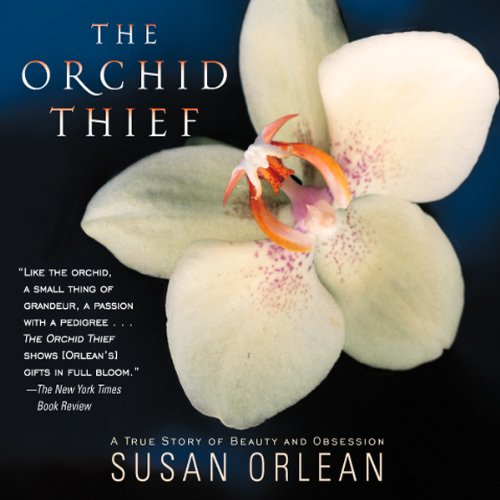 Orchid Thief audiobook cover art