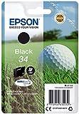 Epson 34 Serie Pallina da Golf, Cartuccia Originale Getto d'Inchiostro DURABrite Ultra, Fo...