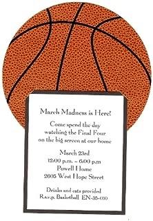 Basketball Invitation, Pack of 10
