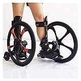 Youpin Outdoor Street Freeline - Patines de goma para patinaje en línea (20 pulgadas, 2 ruedas grandes, talla 37-45 TF-01)