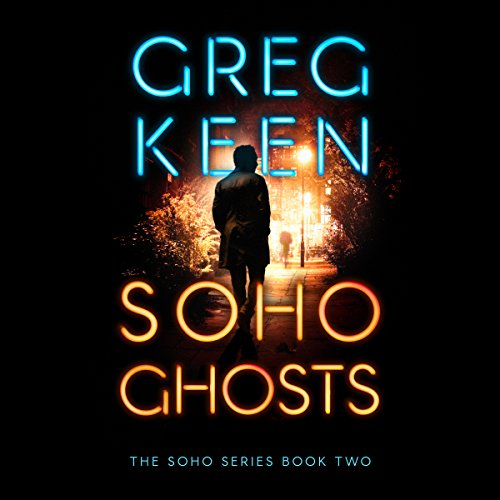 Soho Ghosts audiobook cover art