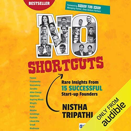 No Shortcuts audiobook cover art