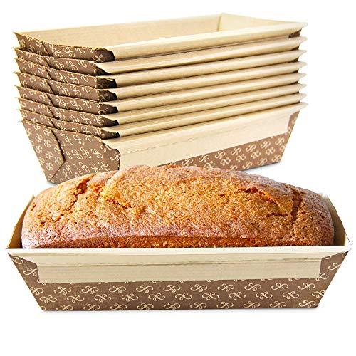 Kraft Paper Bread Loaf Pan: Oven, Microwave, Freezer Safe