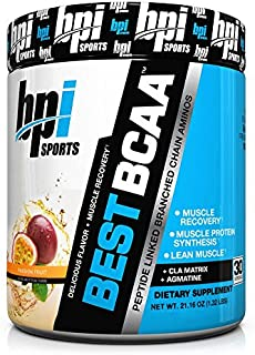 BPI Sports Best BCAA (30 Servings) Muscle Recovery & CLA Matrix PICK A FLAVOR : Passion Fruit