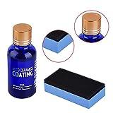 Yunt Kit de líquido antiarañazos para coche, cobertura de cerámica muy hidrofóbica, 9H protección de pintura de auto con nivel alto de brillo y anticorrosiva