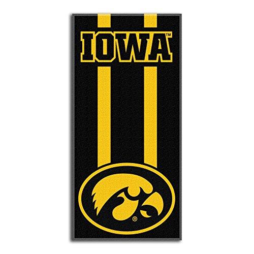 Northwest NCAA Iowa Hawkeyes  Beach Towel,  30 x 60-inch