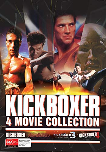 Kickboxer 1 - 4 Collection DVD Box Set The Art of War The Aggressor 1 2 3 4