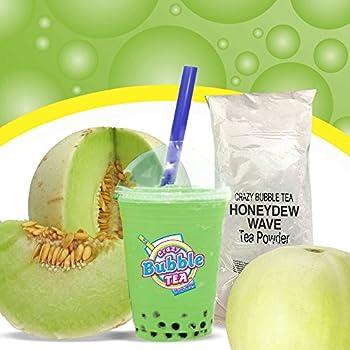 Bubble Tea Smoothie Powder  Honeydew Wave