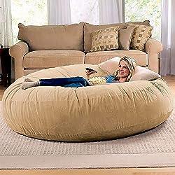 Jaxx 6 Foot Cocoon Large Bean Bag Chair