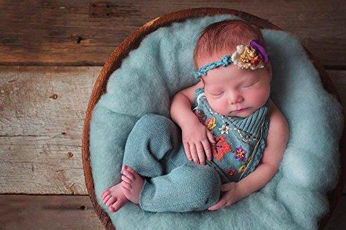 Sunmig Newborn Max 47% OFF Baby Wool Fluff Props 2021 Merino Basket Stuffer Photo